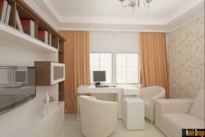 design interior Birou casa Bucuresti